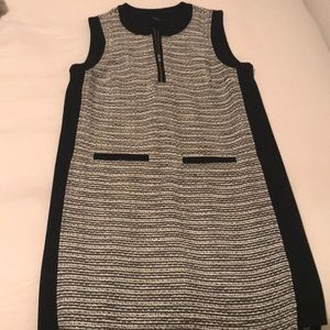 Madewell cotton tweed style shift dress